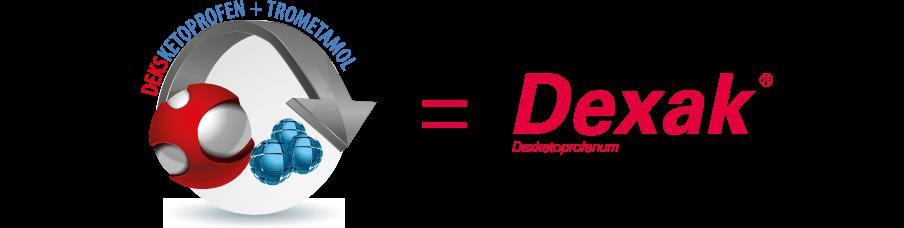 deksketoprofen + trometamol = Dexak