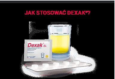Jak stosować Dexak?